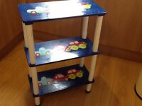Boys toys books shelving storage unit