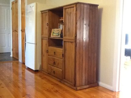 Pine/Stained Cabinet. Hallam Casey Area Preview
