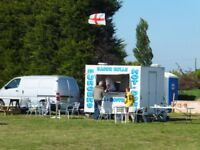 *REDUCED* AJC 10ftx6ft Catering trailer,burger van,snack wagon,twin wheel,5 star,ready to work.