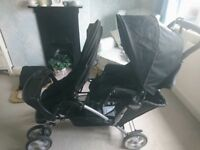 Graco oxford double pushchair