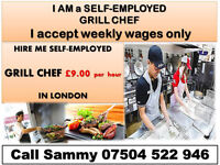I Am a Grill Chef with two years experience working as Grill Chef in London