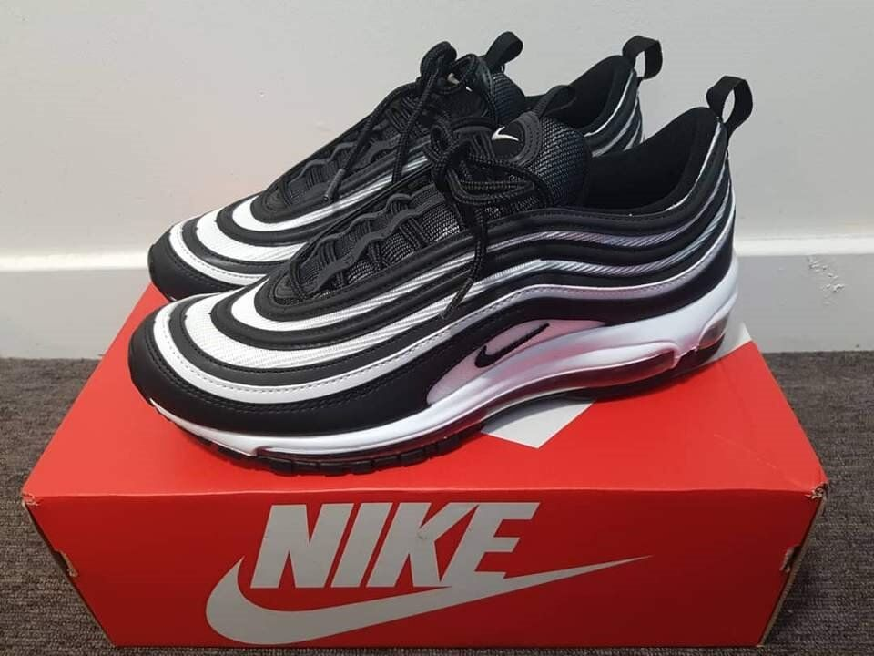 outlet store 7123f 8d441 nike airmax97 oreo uk8size shoes   in partick, glasgow   gumtree