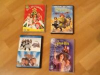 Four kids DVDs
