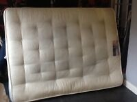USED 2 MONTHS OLD SUPER ORTHO MATTRESS £20 (KING SIZE)