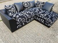 UNIQUE DESIGNED SWIEL CORNER SOFAS/3+2 SOFA SEATERS AND ARMCHAIRS AVAILABLE