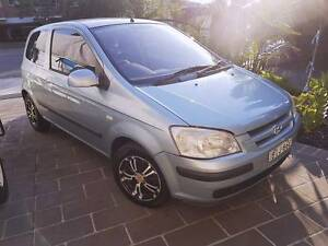 UP FOR SALE IS A BEAUTIFUL 2005 3 DOOR AUTOMATIC HYUNDAI GETZ GL Campsie Canterbury Area Preview