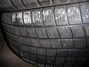 4 pneus d'hiver 235/65/17 Michelin Pilot Alpin