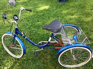 Velo 3 roues adulte tricycle