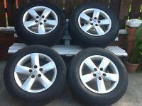 "Nissan qashqia 16""alloys & tyres"