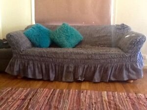 Sofa w fold out bed in great condition p, comes w new cover too. Whyalla Whyalla Area Preview