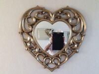 Next heart rococo mirror