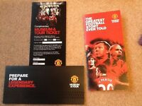 Manchester Utd (Manu / Man Utd) Stadium & Museum Tour Complimentary Tickets - for a family of 4