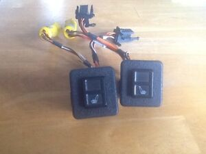 Jaguar/Daimler XJ40 Heated Seat Switches. Lutana Glenorchy Area Preview