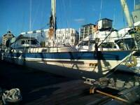 Malo 38 yacht live aboard _ floating home_ Ipswich or London