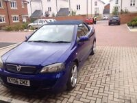 VAUXHALL ASTRA CONVERTIBLE IN BLUE