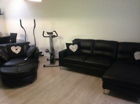 DFS Leather Suite for sale