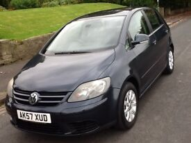 2008 VOLKSWAGON GOLF 1.9 TDI PLUS LUNA 5 DOOR