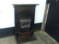 Bedroom cast iron fireplace bargain £40 can deliver