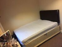 Double Divan Bed with Double mattress