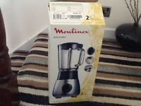 Moulinex blender boxed reduced to clear