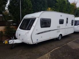 2008 Swift Charisma 540 5 berth caravan MOTOR MOVER, Awning Light to tow !