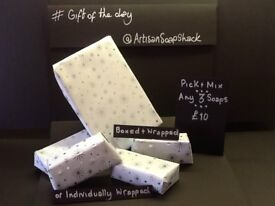Handmade Soap - Gift Packs - Free Gift Wrap - Free Local Delivery