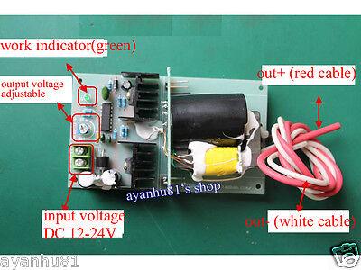 Dc 12v24v Step Up To 1kv-10kv 35w Boost Power Module High Voltage Negative Ion