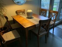 IKEA 'Leksvik' Dining table & chairs