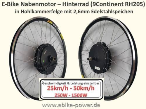 E-Bike Motor 9Continent RH205 45km/h (kein Umbausatz) in 26  27,5 oder 28 Zoll