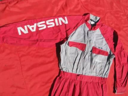 JDM Nissan service workshop overalls L Datsun Skyline Silvia GTR