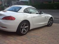 BMW Z4 S Line Alpine White Convertible immaculate condition, full service history with new tyres