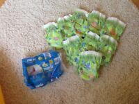 Mamia swim nappies, size small