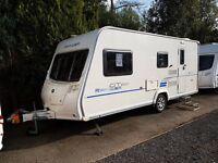Bailey Ranger GT60 510 4 berth caravan 2011 MOTOR MOVER, AWNING, VGC,BARGAIN !