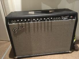 Fender 212 amp. Loud