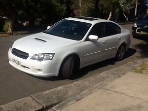 SUBARU LIBERTY GT 2.0 TWIN TURBO 2005 Marrickville Marrickville Area Preview