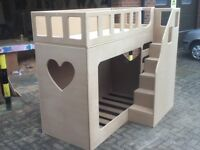 bunk bed FRONT STEPS FREE DELIVERY 3foot VERY STRONG VERY SAFE