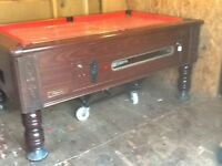 6x3 reconditioned slate bed pub pool table