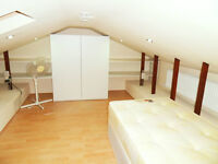 Big loft type Single room available to rent in Custom House Prince Regent