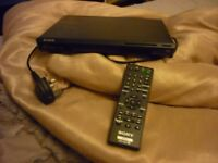 sony dvd player with remote compact size