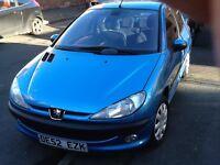 Peugeot 206 £875