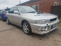 Subaru impreza turbo 2000 1999 fsh only 2 previous owners