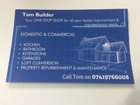 Tom Builder - property refurbishment