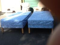 Pair of single beds £55