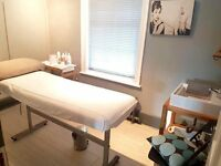 Treatment room above busy salon for rent!