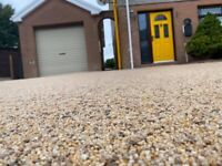 Resin bound/bonded driveways internal stone carpets and flake flooring and epoxy floors