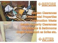 Waste Clearance Rubbish removal Garden Clearance