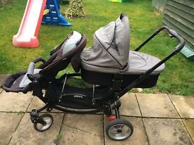 Zoom OBaby Double Pushchair