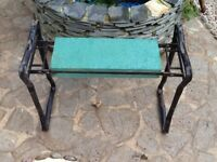 Garden kneeler, to save your legs