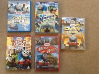 Thomas The Tank Movies DVD - 5 Titles - Excellent Condition - Great Xmas Gift
