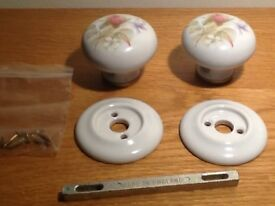*New* Ornate ceramic interior door knobs (1)